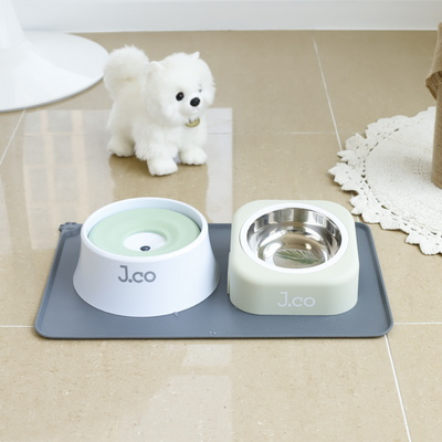 제이코 향균 강아지 고양이 물그릇 애견 물통