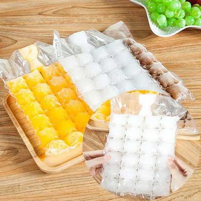 얼음비닐 얼음틀 그대로 뜯어쓰는 비닐10장
