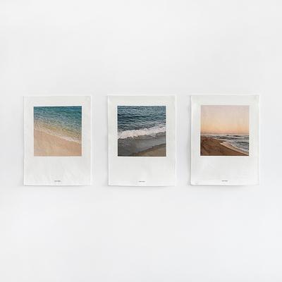 아름다운 우리나라 바다의 사계절 패브릭포스터