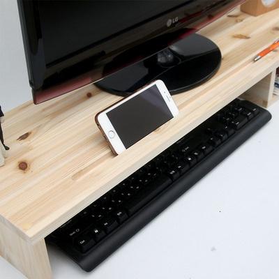 WD1010 원목 모니터 받침대 와이드 800 BOX