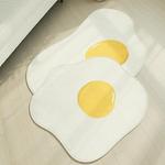 계란후라이 극세사 키즈 러그 100x100 - 2size
