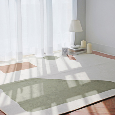미헨느 파스텔 단모 사계절 러그 100x150 - 1color