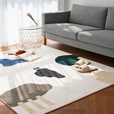 라이크 단모 극세사 사계절 러그 100x150 - 1color