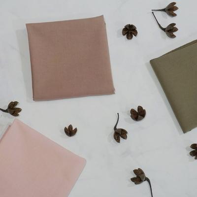 천연염색 무지 민무늬 손수건 무릎덮개 어린이 손수건