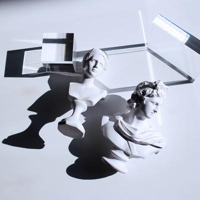비너스 아폴론 석고상 15cm 중형 카페 소품