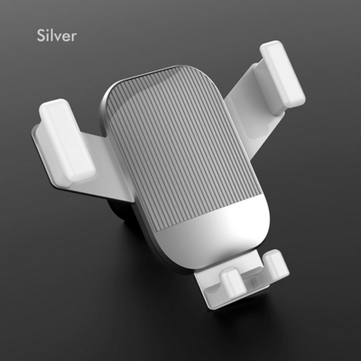 LICHEERS 차량용 송풍구 오토 슬라이드 핸드폰 거치대