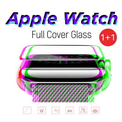 오펜트 1+1 애플워치4 3 2 풀커버 강화 필름 보호