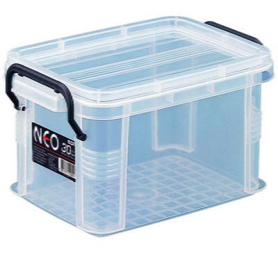 플라스틱 투명상자 리빙박스 옷보관함 네오박스30