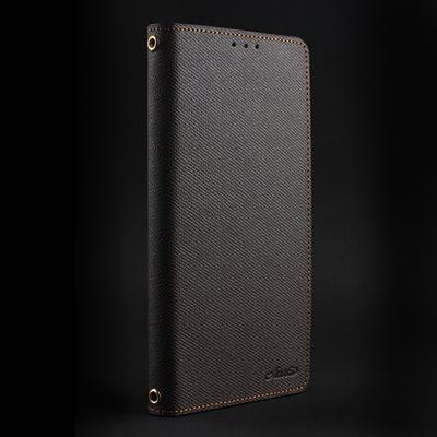 LG V40 ThinQ 테이크 뽁뽁이플립 천연가죽 폰케이스