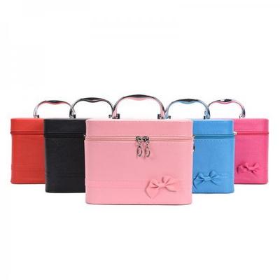 비진 캐리본 메이크업 박스 화장품 파우치