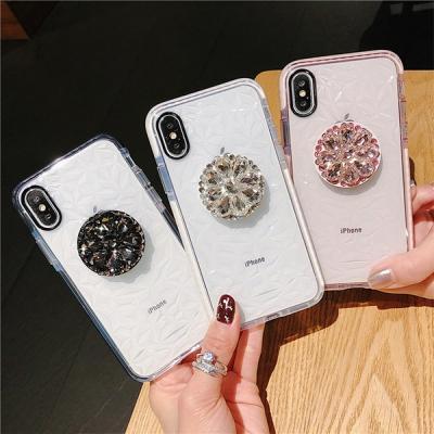 아이폰11 노트10 다이아몬드 패턴 스마트톡 케이스
