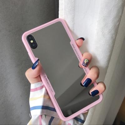 컬러 범퍼 풀미러 거울 젤리 아이폰 케이스 아이폰11