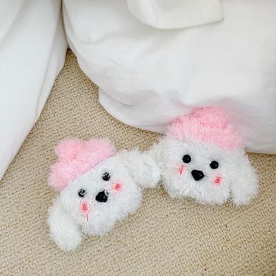 털모자 강아지 흰둥이 에어팟 1세대 2세대 케이스
