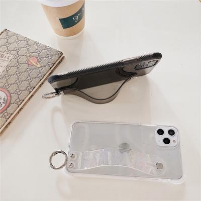 투명 스트랩 충격보호 범퍼 젤리 아이폰11 케이스