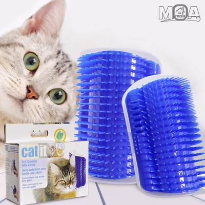 고양이 셀프 그루밍 브러쉬 코너 마사지 브러시