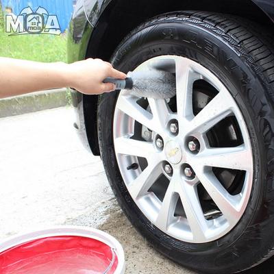 타이어 휠 틈새 청소 솔 휠세척솔 세차용품 청소도구
