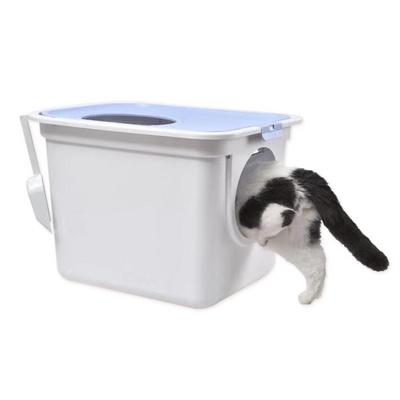 빅사이즈 위아래 투웨이 고양이화장실