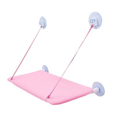 창문해먹 핑크 고양이 스크래처 장난감