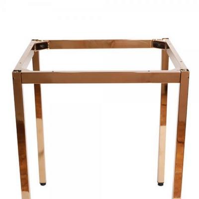 [가구느낌] 로즈골드 30각 프레임(600) 테이블 다리