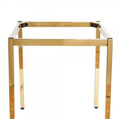 [가구느낌] 골드 30각 프레임(600 사이즈용) 테이블 다리