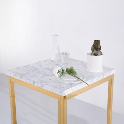 [가구느낌] LPM 600사각 골드 30각 티테이블 카페 2인