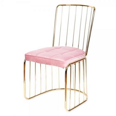 [가구느낌] 라인벨벳체어 1+1 식탁의자 카페 디자인 인테리어