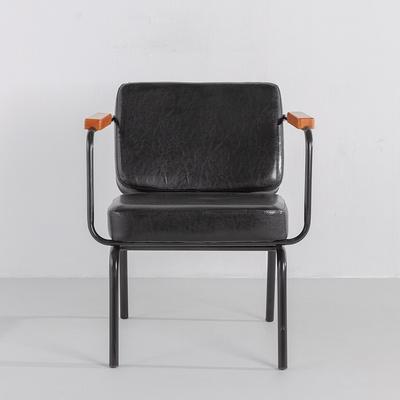 [가구느낌] 철재사각소파1인 카페 디자인의자