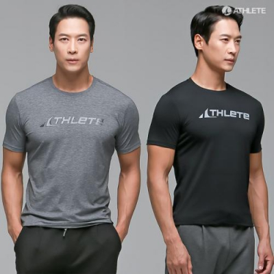 남성 고탄력 기능성 스포츠티셔츠 MDAT01 앤디 반팔 티셔츠