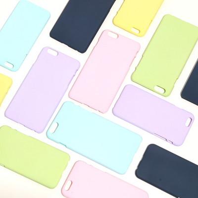 (1+1 배송메모 기입) (아이폰6 6S 6플러스 6S플러스) 마카롱 케이스_파스텔에 빠지다