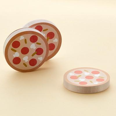 피자 포스트잇 점착 메모지
