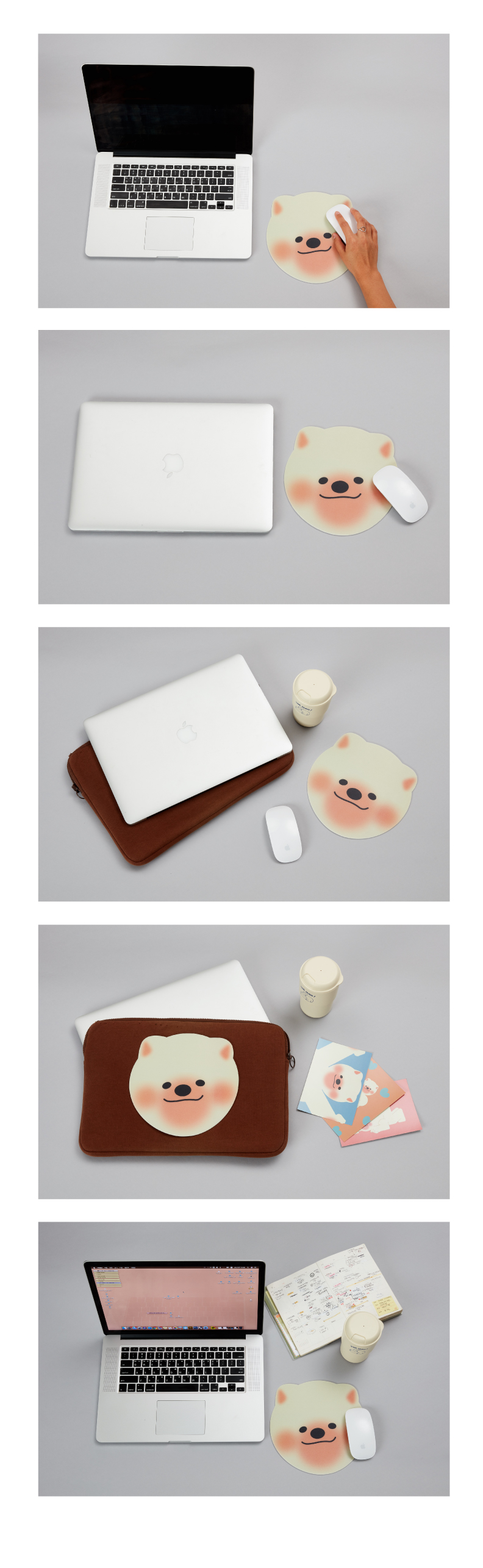 독맨 마우스패드 - 피클즈, 4,000원, 키보드/마우스 용품, 마우스 패드