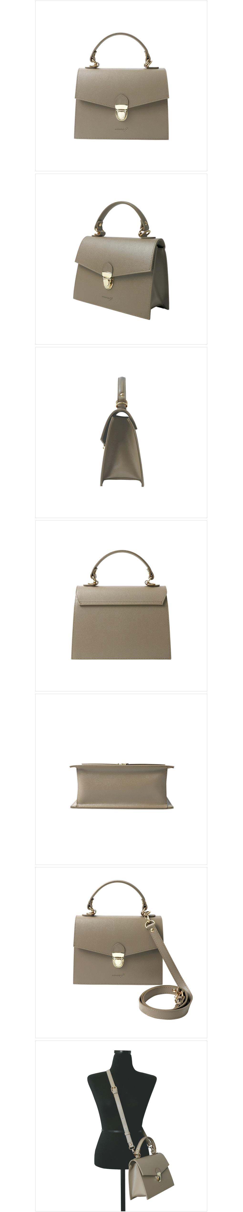 하이엔 토트 크로스백 (dark beige) - 모노크나인, 58,000원, 크로스백, 인조가죽크로스백