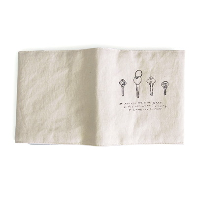 fabric namecard case_key