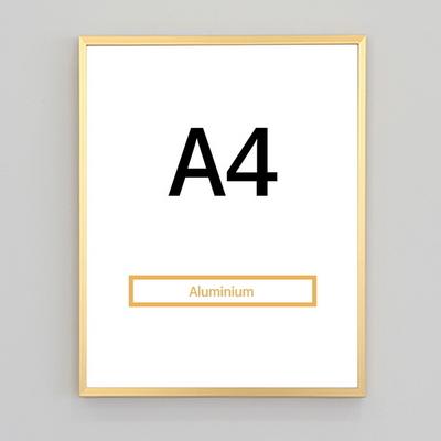 알루미늄액자 A4 규격액자(7컬러) 인테리어 액자