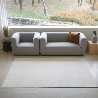 단모 침대러그 원룸카페트 집뜰이선물러그 100X150cm