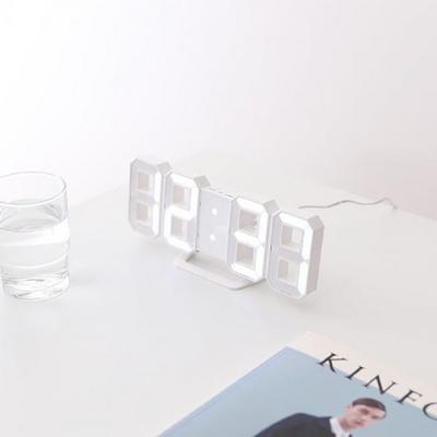 LED 무소음 탁상시계 2종