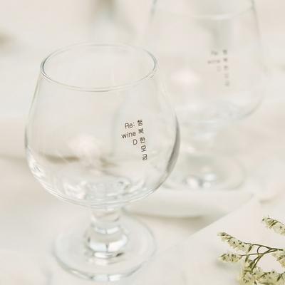 리와인드 와인 담금주키트 전용잔