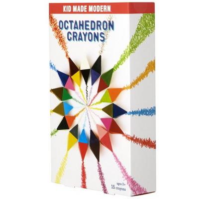키드메이드모던 팔각크레용 Octahedron Crayons