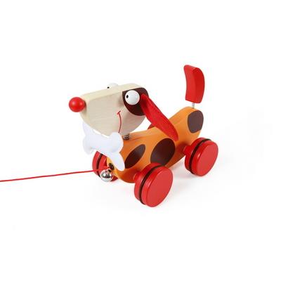 스크래치유럽 원목강아지 오스카( Pull-Along Toy Dog Oscar)