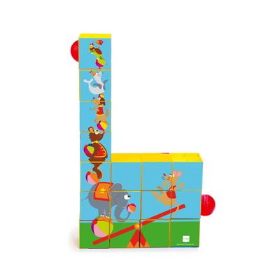 스크래치유럽 롤러코스터 퍼즐블록( Puzzle Roller Coaster Circus)