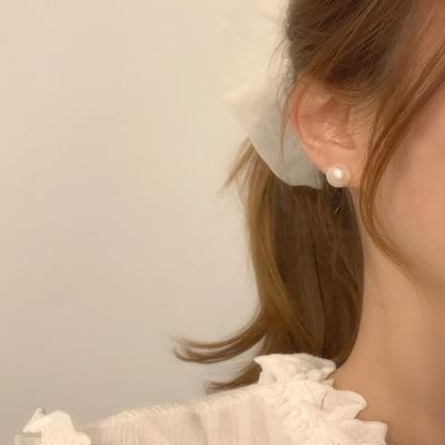 925실버 데일리 레이어드 천연 담수진주 귀걸이