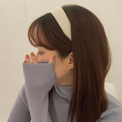 보카시 니트 하이틴 헤어밴드 (7color)