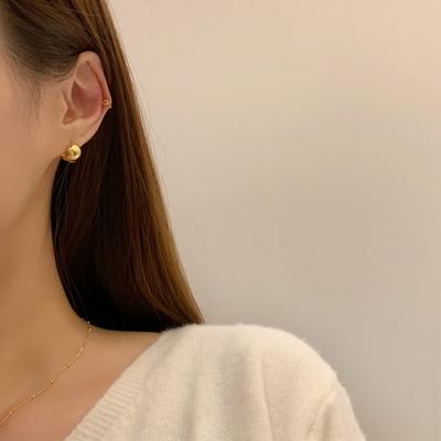 925실버 세컨드 미니원형 레이어드 귀걸이 3color