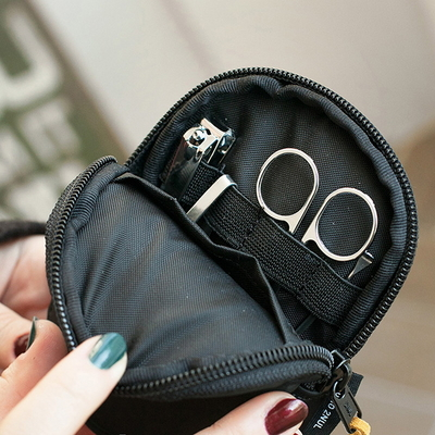 NAIL CLIPPER POUCH_black