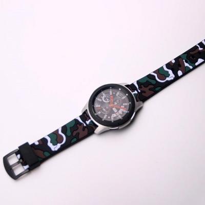 삼성 갤럭시워치 기어 s3 스포츠 밀리터리 실리콘 스트랩 클래식 프론티어 액티브 시계줄 밴드 42mm 46mm