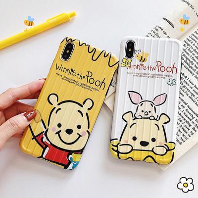 아이폰 XR/XS/MAX 맥스/X/8 7플러스/귀여운 곰돌이 돼지 동물 캐릭터 실리콘 젤리 핸드폰 케이스/커플 추천