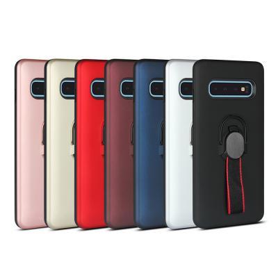 아이폰 XR XS MAX 맥스 X 8 7 플러스 탈부착 밴드 스트랩 스마트링 차량 거치대 슬림 실리콘 핸드폰 케이스