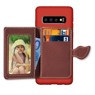 갤럭시 노트10 S10 S10E 플러스 귀여운 커플 가죽 카드지갑 수납 거치대 실리콘 소프트 범퍼 핸드폰 케이스