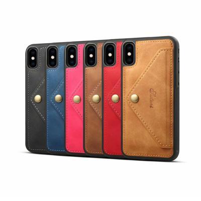 아이폰 XR XS MAX 맥스 X 가죽 카드 수납 지갑 슬림핏 실리콘 범퍼 핸드폰 케이스/커플 추천