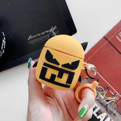 에어팟 1/2 차이팟 귀여운 3D입체 악마 커플 캐릭터 실리콘 유/무선 충전 케이스 키링고리 세트/철가루방지